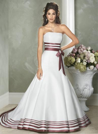 vestido de novia de color