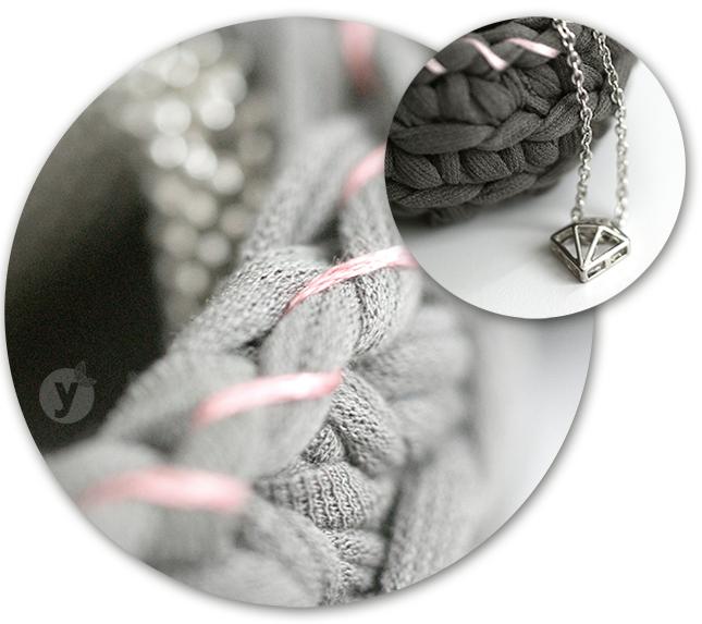 Ynas Design Blog, gehäkeltes Körbchen, chrochet, Basket