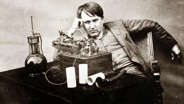Scientist Thomas Alva Edison Photo