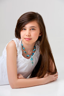 Beauty Child Girl Long Straight Hairstyle Hairstyles for long hair girls with straight hair