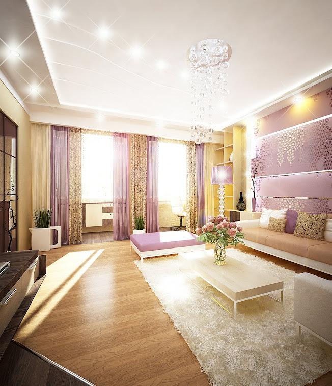 Дизайн  интерьера квартиры по ул. Антонова  г. Пенза (80кв.м).