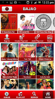 Android App - Bajao - Music and Audio