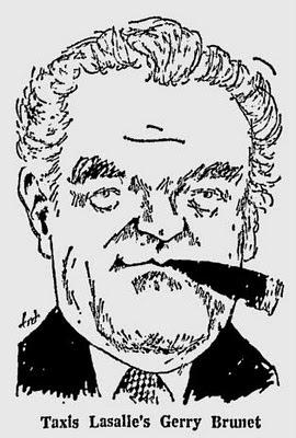 Caricature parue dans The Gazette le 7 nov 1973
