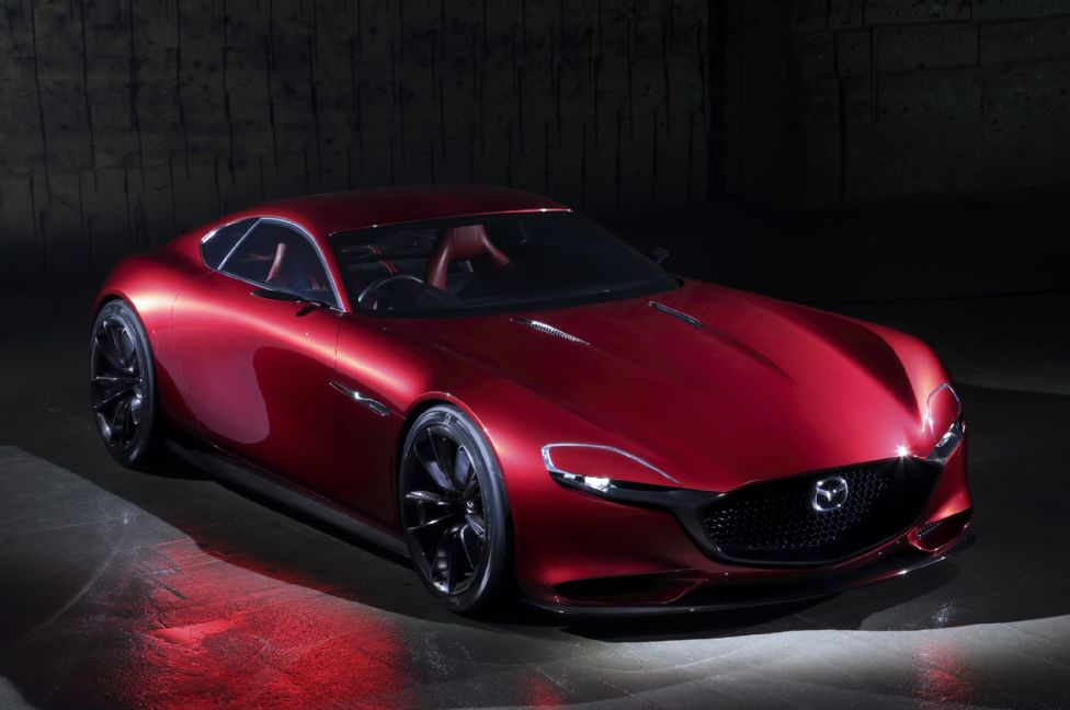 New Mazda RX-VISION Concept First Look Photo Gallery