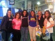 Hot Mammas: Me, Rox, Coach Dana, Monica, Jen and Kerry at the Expo