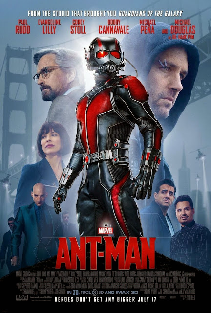 Marvel's Ant-Man Final Theatrical One Sheet Movie Poster
