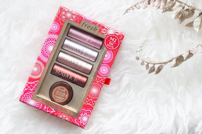 fresh sugar lip treatment sweet nudes gift set review