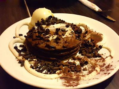 Tiramisu Pancake at Strictly Pancakes Dhoby Ghaut