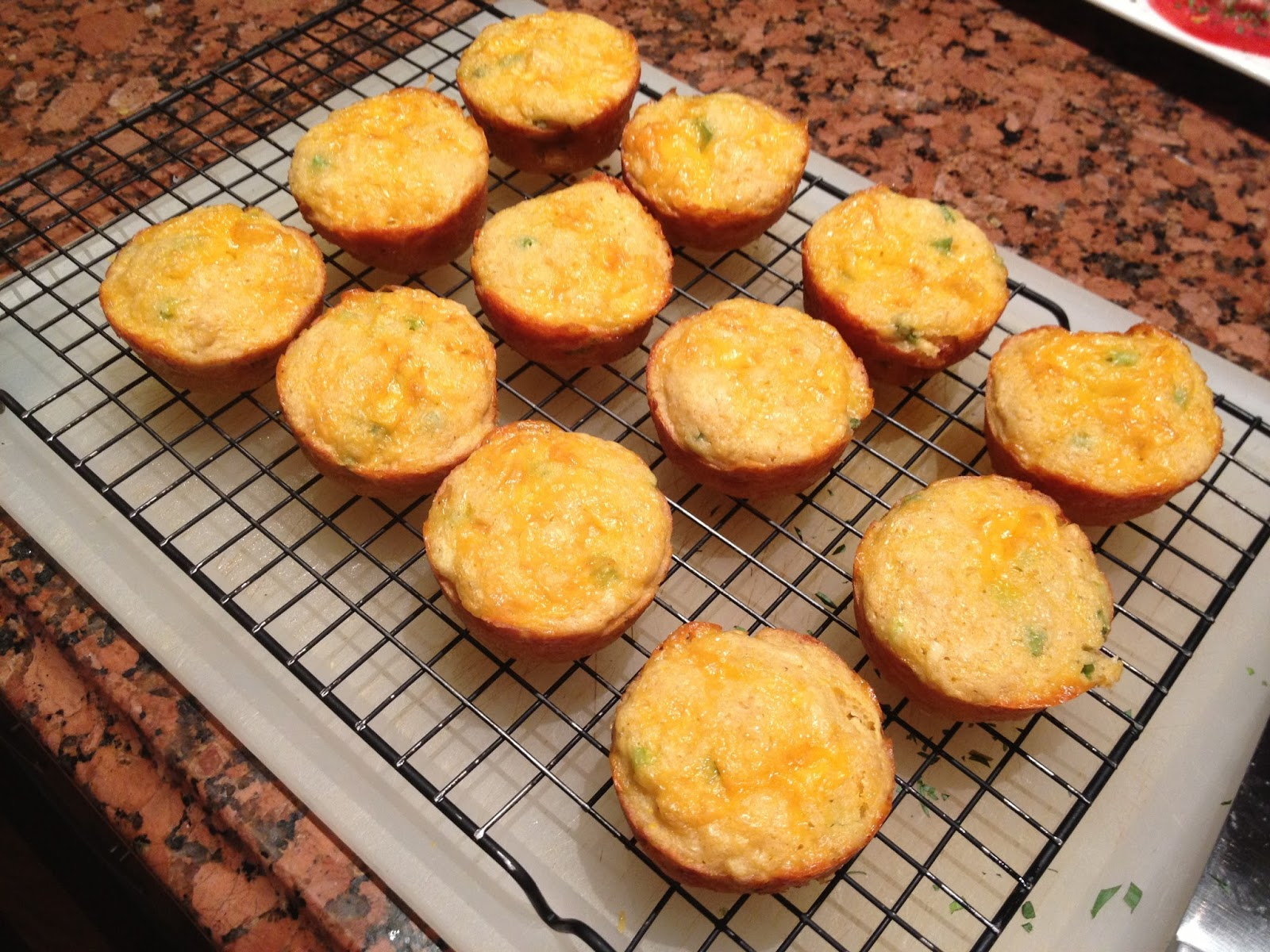 White Cheddar And Scallion Corn Bread Recipes — Dishmaps