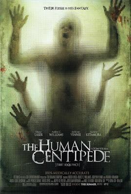 Capa do filme A Centopeia Humana