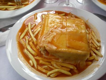 Traditional portuguese junk food for Authentic portuguese cuisine