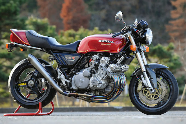 Racing Caf Honda CBX 1000 by redrpm