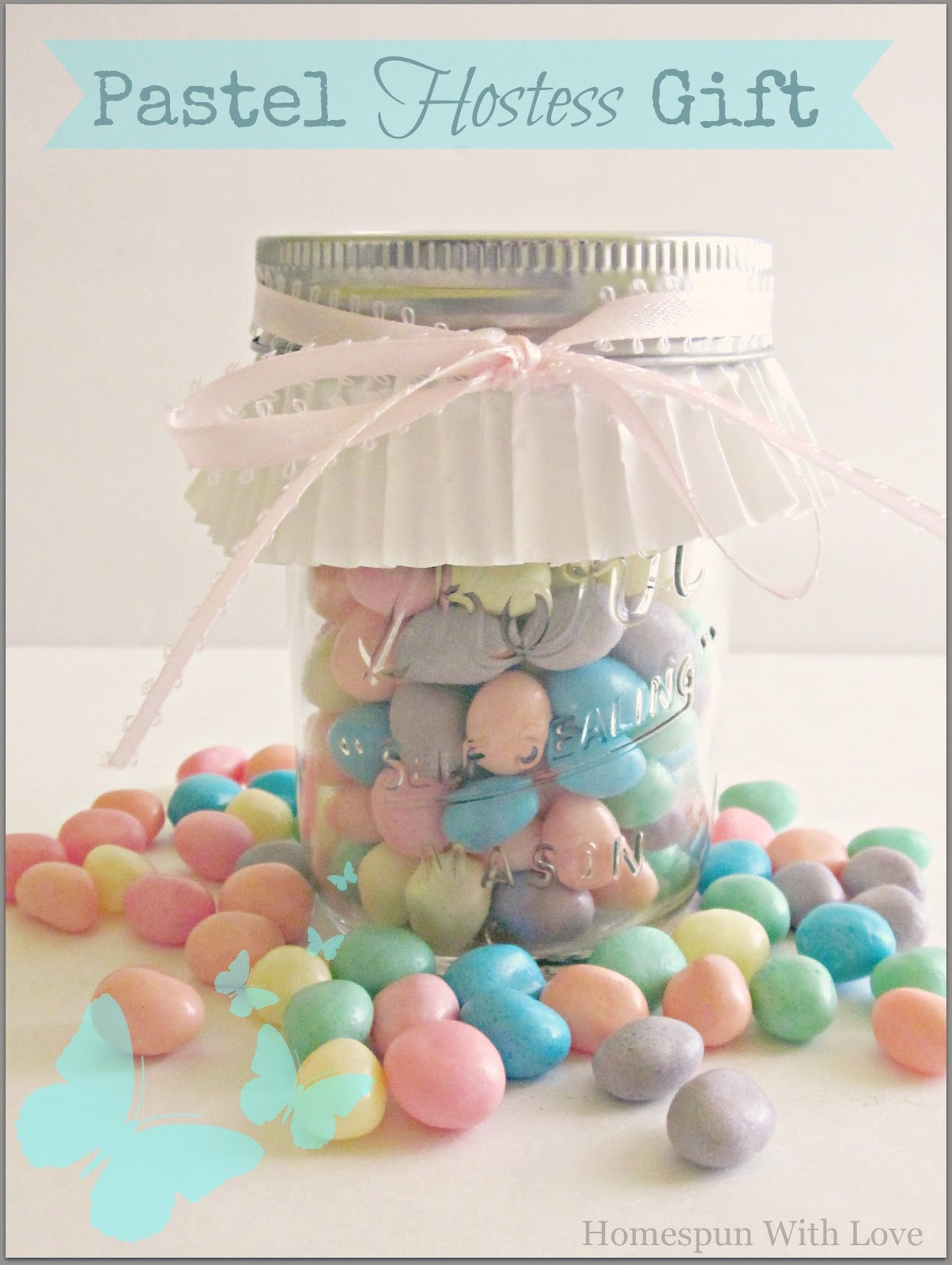 Homespun with love pastel hostess gift monday march 18 2013 negle Images