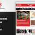 Download Template Magazine Elegan Blogspot Gratis - Flat News