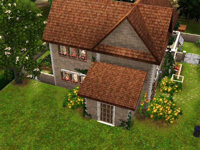 summer country house sims 3
