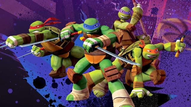 serie Tortugas Ninjas 2012