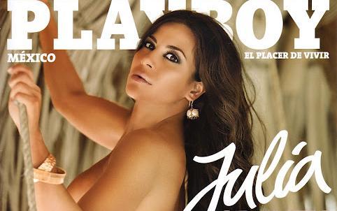Para ver todas las fotos de Julia Orayen en la Revista Playboy Mexico