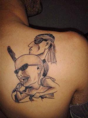 Tatuaje Los Redonditos de Ricota