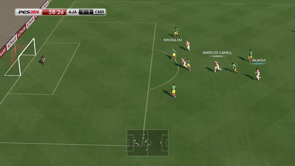 pes 2014 world challenge pc game screenshot 2 Pro Evolution Soccer 2014 World Challenge SKIDROW
