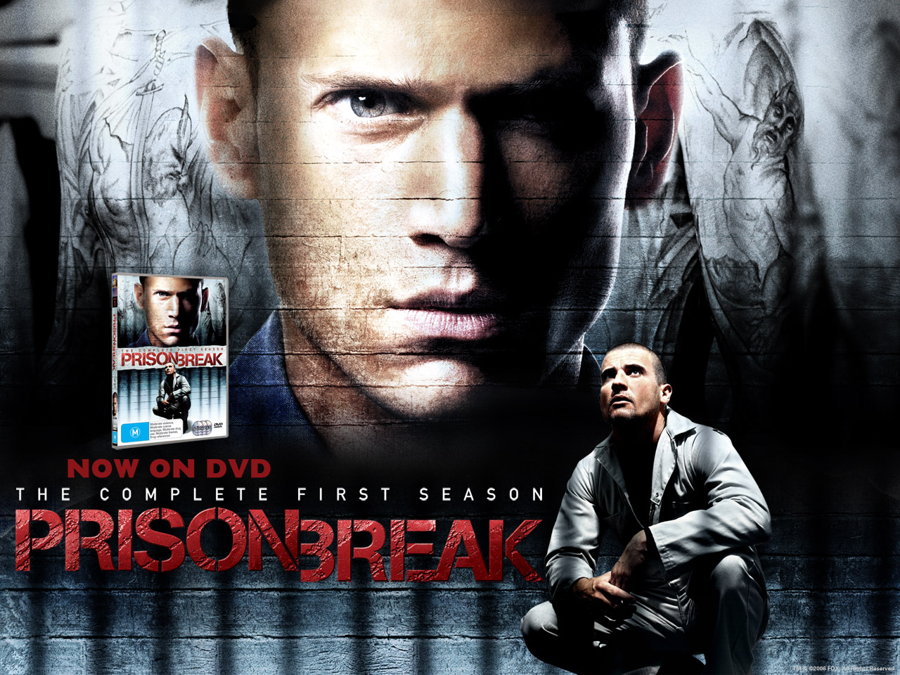 prison break poster gallery2 tv series posters and cast. Black Bedroom Furniture Sets. Home Design Ideas