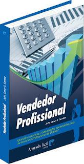 """Meu Livro: """"Vendedor Profissional"""""""