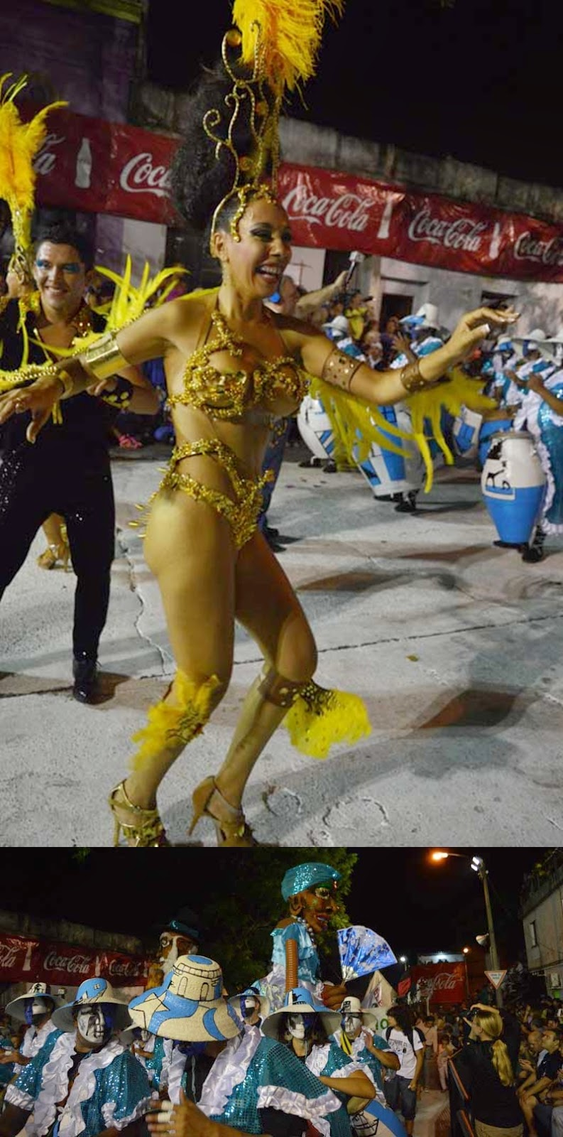 Carnaval. Desfile de Llamadas. Zumbaé.