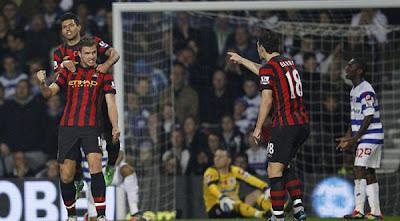 Queens Park Rangers 2 - 3 Manchester City (1)
