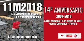 11-M: VÍCTIMAS Y FAMILIARES SIGUEN EN NUESTRO RECUERDO Y AFECTO