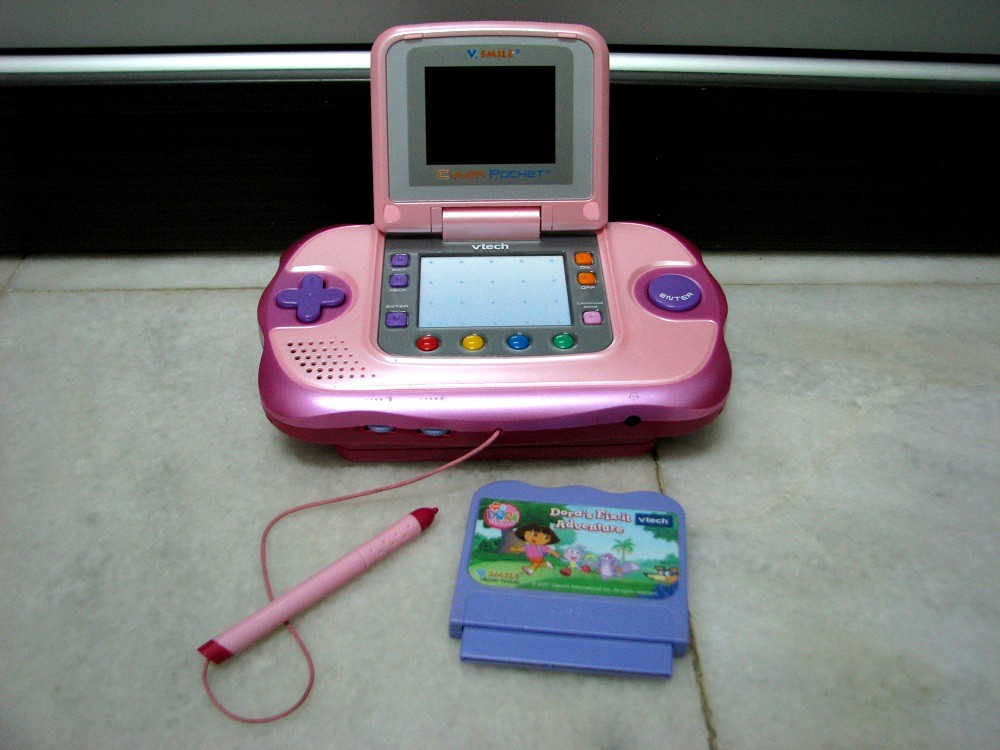 Kiddy parlour sold gallery vtech v smile cyber pocket learning system - Console vtech vsmile pocket ...