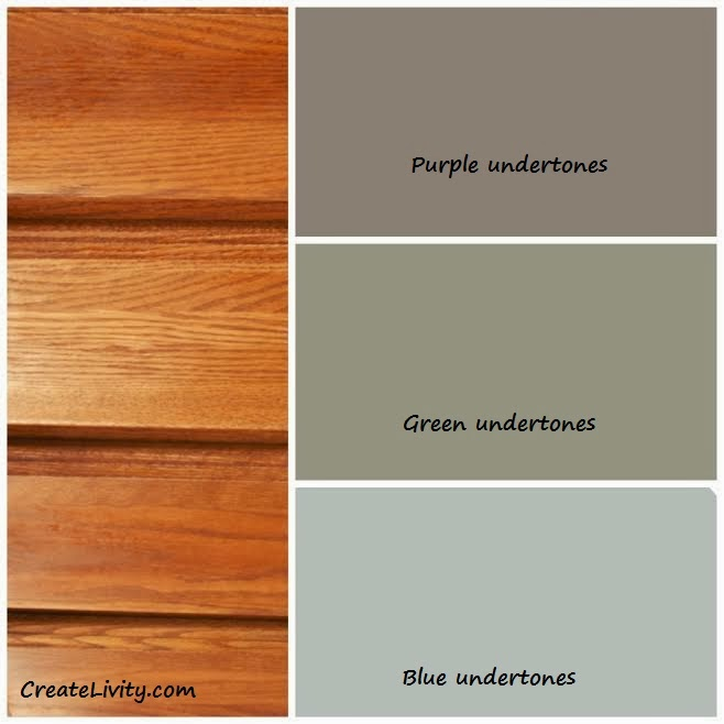 paint colors that go with oak trimCreateLivity is 5 Ways To Make Oak Work Without Painting It