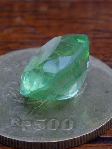 Soldout Green Obsidian Facet No 2 Rp 150 000