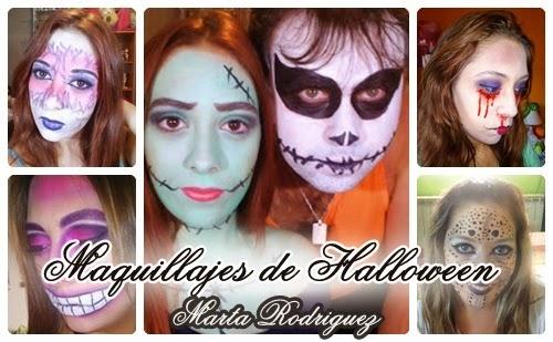 Maquillajes de Halloween por Marta Rodriguez