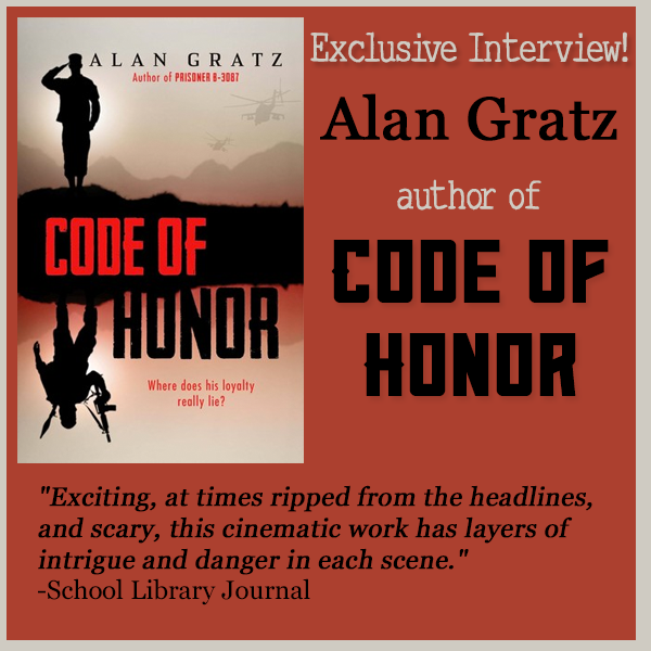 Alan Gratz Author Of Code Of Honor On on Latest Writing Contests 2015