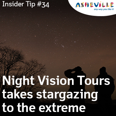 Asheville Insider Tip: See Thousands of Stars Using Military-Grade Equipment.