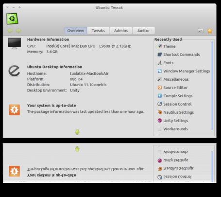 Instalar Ubuntu Tweak 0.8.5 en Ubuntu 13.04, ppa de ubuntu tweak, última versión ubuntu tweak ubuntu
