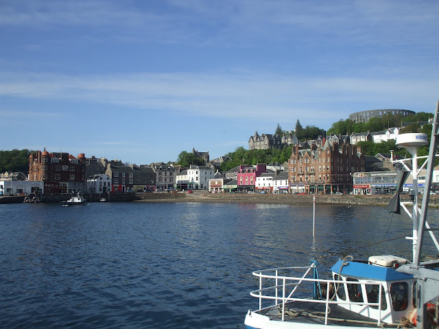 oban bay by sea penguin