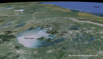 El Gran Lago y sus alrededores (Taihu Lake)