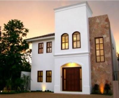 Fachadas mexicanas y estilo mexicano casa mexicana estilo for Fachadas de casas mexicanas