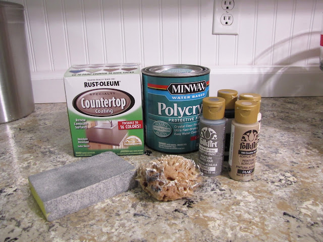 ... as a guide when painting your counters. Here are a few I found online