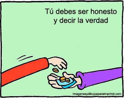 el honestidad: