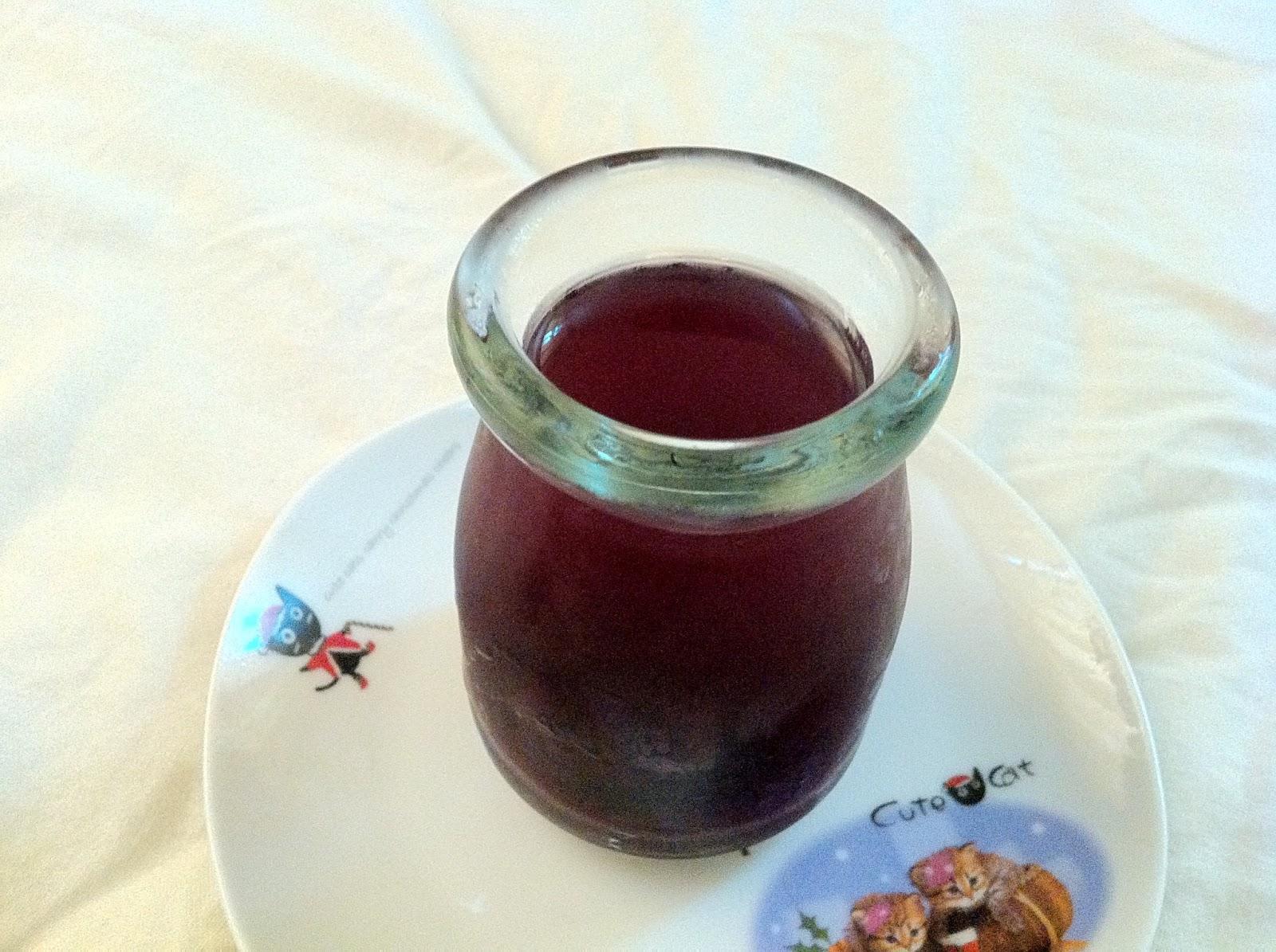 紫之工坊: 桑椹寒天凍(洋菜凍)---寶寶版果凍
