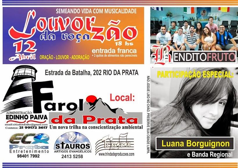 LOUVORZÃO DA ROÇA - 12 de Abril 2014