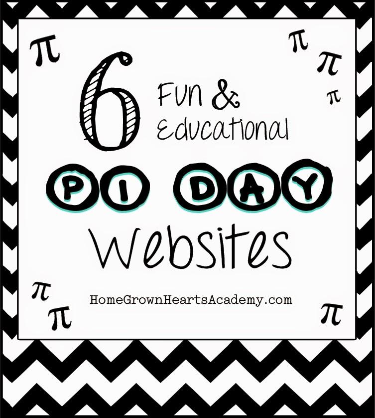 Home Grown Hearts Academy Homeschool Blog Pi Day Educational
