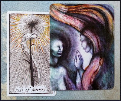 The Wild Unknown Tarot, Soul Cards 2 Son of Wands