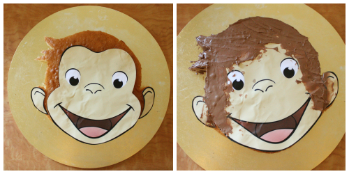 Life As We Know It How To Create A Curious George Cake