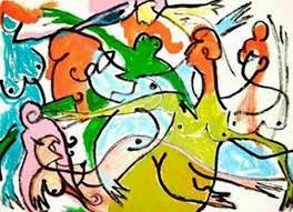 Dibujo de Miguel Bosè Para Subasta Benèfica