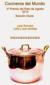 3º premio  Cocineros del mundo