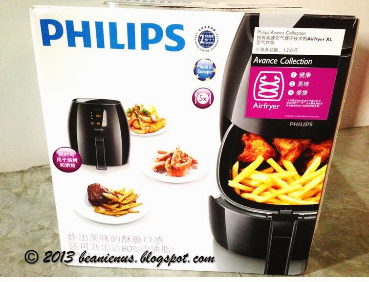 philips air fryer instruction manual
