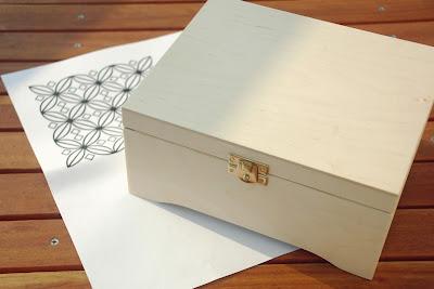 ozdabianie pudełka