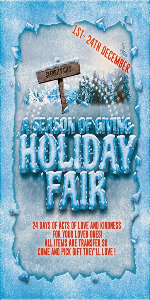A Season of Giving - Holiday Fair